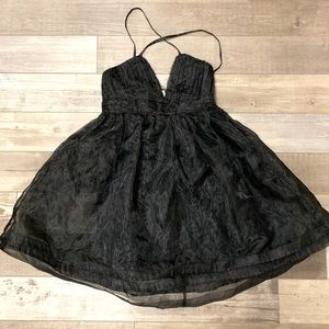 moon collection tulle dress